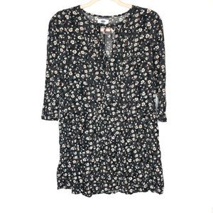 Old navy floral boho tunic dress